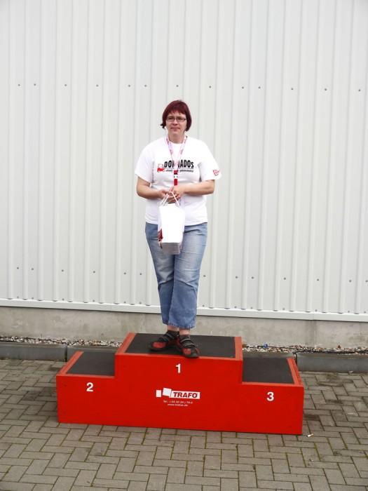 Beste Fahrerin Katrin Zerbe