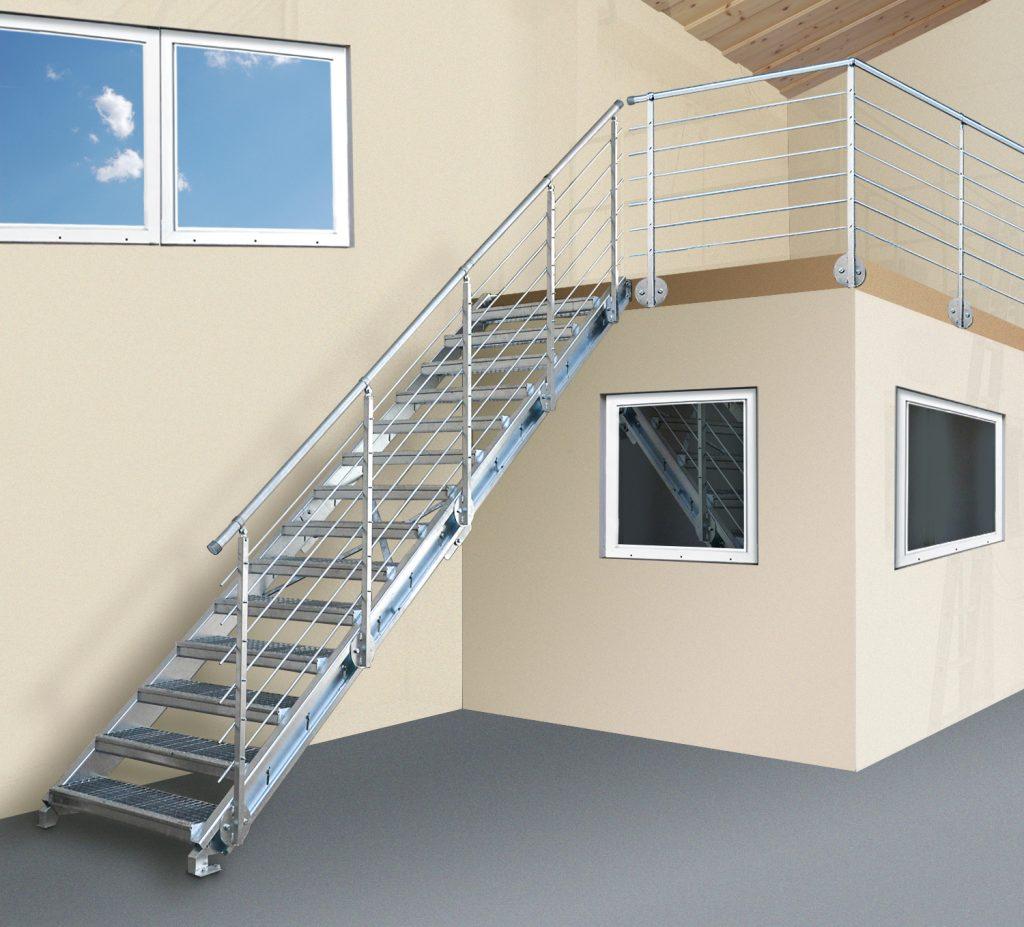 Betriebseinrichtung, Treppen Anlage, Modultreppen