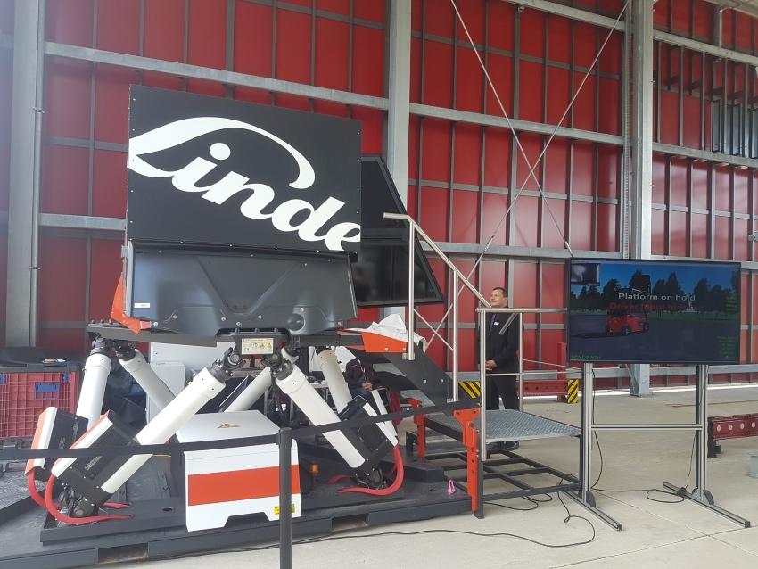 Assistenzsystem Gabelstapler Linde Safety Pilot