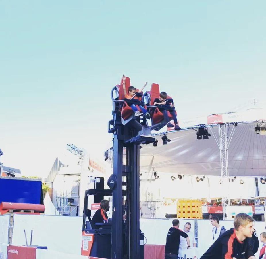 StaplerCup Finale 2019, Aschaffenburg, MagicLifter, Dynamic Mast Control