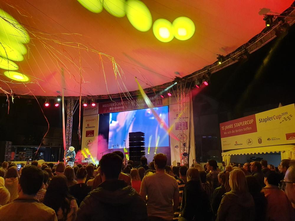 StaplerCup Finale 2019, Aschaffenburg, Michael Schulte Konzert