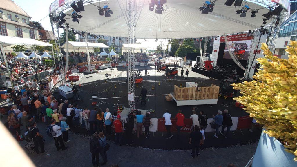 StaplerCup Finale 2019, Aschaffenburg, Schlossplatz