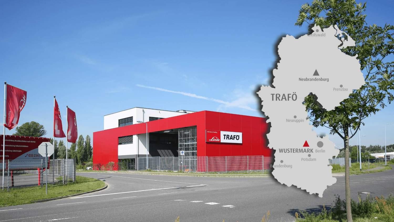Trafö Linde Gabelstapler Wustermark und Neubrandenburg Berlin Brandenburg Mecklenburg Vorpommern