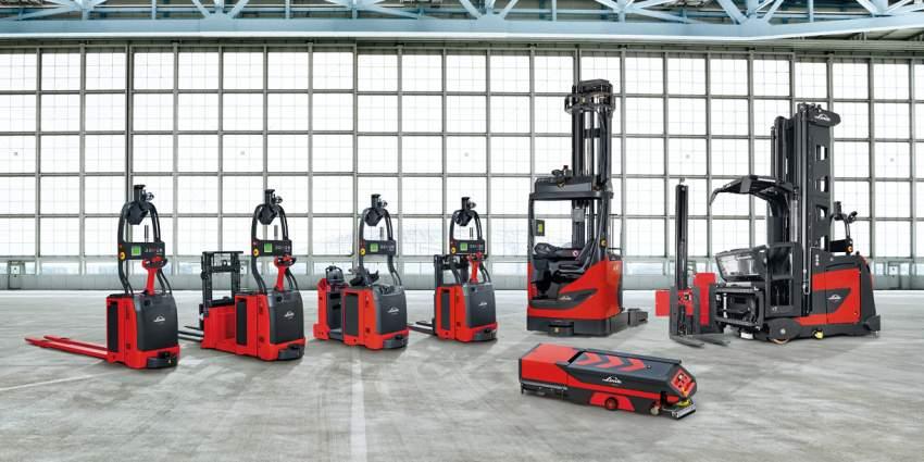 Automatisierte Fahrzeuge von Linde Material Handling