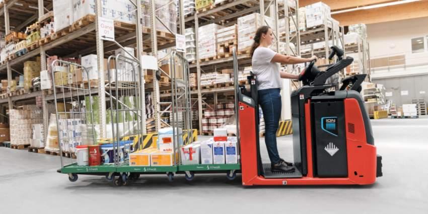 Lagertechnikgeräte von Linde Material Handling im Einsatz
